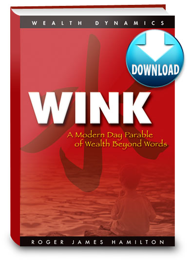 Wink: Parable of Wealth Beyond Words by Roger James Hamilton